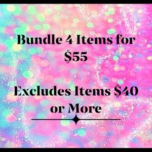LIMITED TIME - Bundle 4 Items